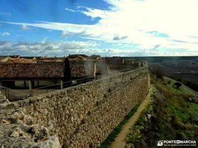 Urueña-Villa del Libro; las hoces del duraton puente diciembre la cabrera madrid ruta del agua